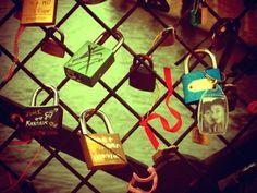Paris… Keepin' it locked down.