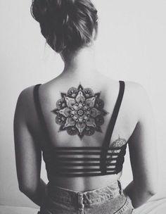 Dream Mandala Back Tattoo for Girl - 10 Beautiful Mandala Inspired Tattoos