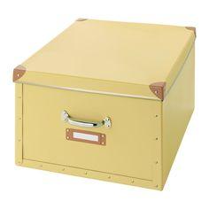 FJÄLLA Boîte avec couvercle - jaune - IKEA