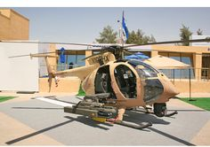 Boeing took its AH-6i helicopter demonstrator to Amman, Jordan, in May, and came away with a potential sale. (Photo credit: David Donald)