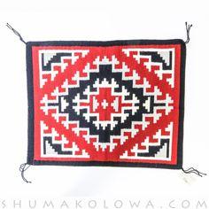 Breathtaking Ganado Navajo Rug handwoven by world-renowned weaver Sally Yazzie Native American Blanket, Native American Rugs, Native American Patterns, Navajo Weaving, Navajo Rugs, Hand Weaving, Tapestry Crochet Patterns, Indian Quilt, Native Art