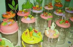 Resultado de imagem para garrrafas com bisciut Cake, Desserts, Food, Painted Coffee Mugs, Bottles, Pie Cake, Tailgate Desserts, Pastel, Postres