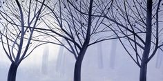 Winter landscape 2 by Alex Katz at the High