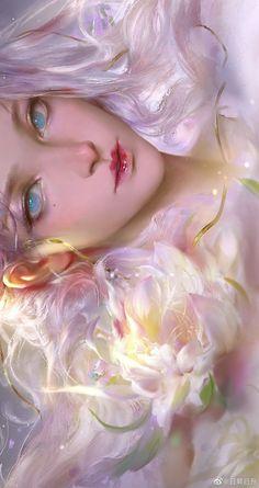 Anime Art Girl, Manga Art, Pretty Art, Cute Art, Beautiful Fantasy Art, Beautiful Goddess, Poses References, Digital Art Girl, Digital Art Fantasy