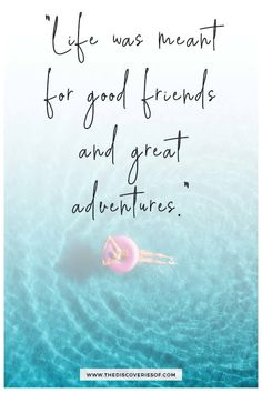 holiday quotes Inspirational quotes about travel and adventure: because even the most fearless go-getters sometimes need that bit of extra motivation! Inspirational Quotes About Strength, Positive Quotes, Motivational Quotes, We Are Best Friends, True Friends, Close Friends, The Words, Best Travel Quotes, Best Friendship Quotes