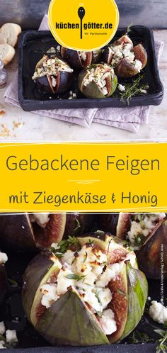 Gebackene Feigen - My list of the most healthy food recipes Lacto Vegetarian Diet, Vegetarian Recipes, Healthy Recipes, Meat Appetizers, Appetizer Recipes, Simple Appetizers, Party Appetizers, Easter Recipes, Recipes Dinner