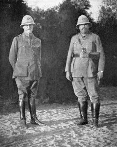Image result for general botha and smuts german southwest 1915