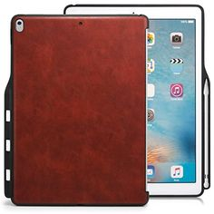 Ipad Pro 12.9 Case With Pencil Holder Classy Toovren Trifold Ipad Pro 129 Case With Apple Pencil Holder