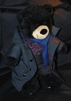 Eeeeee, this Sherlock Teddy Bear! Purple shirt and all! Between Sher-bear, John-bear, and Who-bear, I'm gonna be friggin broke!