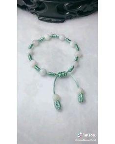 Diy Crafts Hacks, Diy Crafts Jewelry, Bracelet Crafts, Handmade Jewelry, Bracelet Knots, Knots For Bracelets, Diy Jewelry Videos, Washer Bracelet, Making Bracelets