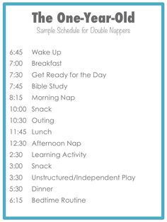 to Add Learning Activities to Your Toddler's Daily Routine This is a great schedule for my one-year-old!This is a great schedule for my one-year-old! 1 Year Old Schedule, Baby Schedule, Toddler Schedule, Toddler Menu, Baby Feeding Schedule, Infant Activities, Learning Activities, Toddler Learning, Toddler And Baby Room