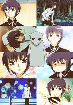 """""""Fruits Basket"""" - Yuki Sohma. Can I just mention how much I want a Yuki? Like my own personal Yuki to just have around."""