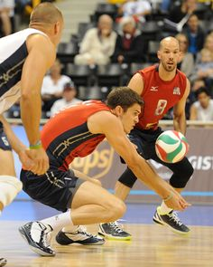 Check out this perfect pass by the US Men's National Volleyball Team! Photo from usavolleyball.org