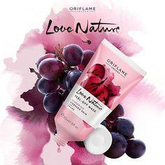 #Exfoliar tu piel es sano y mejora su apariencia. Prueba la #mascarilla de uva Love Nature, que remueve células muertas y revitaliza gracias al extracto de semilla de uva. Aplícala, espera 20 minutos y despréndela. ¡Así de fácil! #OriflameMX