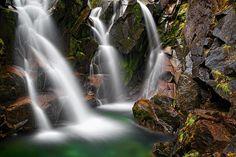Ruby Falls, Mt. Rainier, Washington