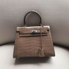Womens REAL Leather Croc Skin Print Shoulder Bag Satchel
