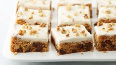 Maple is a flavor that can go far beyond pancakes, as these nutty, chocolaty, frosted bars prove. They're made with a shortcut start from Betty Crocker™ chocolate chip cookie mix, and get finished with a scratch maple buttercream that's well worth a little bit of extra effort.