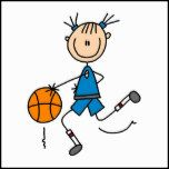 Shop Stick Figure Girl Basketball Player Tshirts Postcard created by sport_shop. Art Drawings For Kids, Art For Kids, Nurses Week Quotes, Stick Figure Drawing, Happy Cartoon, Cartoon Cartoon, Stick Family, Cartoon Sketches, Stick Figures