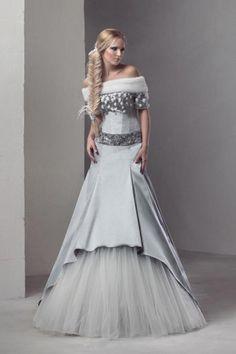 russian winter wedding dress