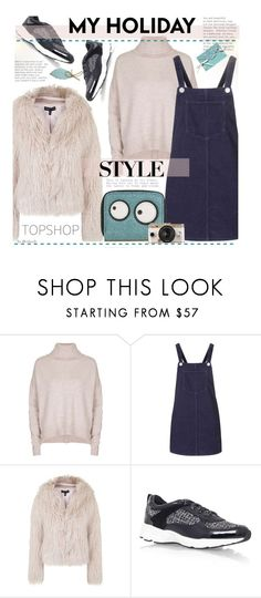 """""""Topshop - Casual"""" by beebeely-look ❤ liked on Polyvore featuring Topshop, Neiman Marcus and Urban Outfitters"""