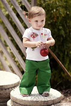 Grüne Kinderhose Nähanleitung