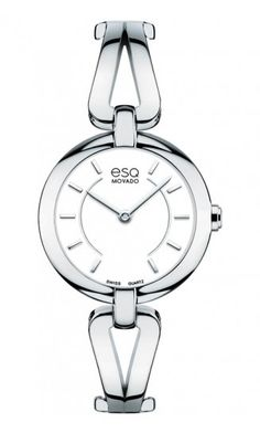 "ESQ ""Corbel"" Woman's Watch. Stainless Steel Quartz Movement $295 at DarcysFineJewelers.com"