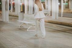 FASHION WEEK POLAND 2016 - Biały garnitur damski   Personal blog by Iwona Tederska