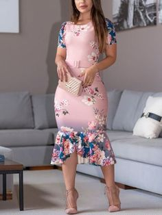 Floral Print Belted Pep Hem Bodycon Dress dresses to wear to a wedding dresses short dress outfit dress dress dresses modest dresses Modest Dresses, Short Dresses, Fall Dresses, Formal Dresses, Women's Fashion Dresses, Dress Outfits, African Wear Dresses, Plus Size Gowns, Dresses To Wear To A Wedding