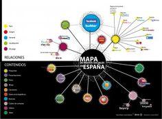 Infografía | Mapa de las redes sociales en España 2011