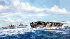 1943 Aircraft carrier escort Taiyo - Takeshi Yuki