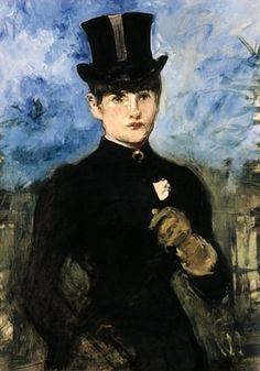 Amazone, 1882 by Édouard Manet (French, 1832-1883)