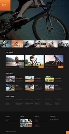 Cycling club #Wordpress #template. #themes #business #responsive