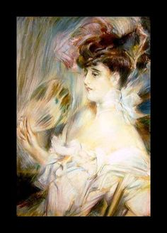 Madame Marie-Louise Herouet - Giovanni Boldini - The Athenaeum Giovanni Boldini, Victorian Art, Oil Painting Reproductions, Woman Painting, Cave Painting, Italian Artist, Funny Art, Great Artists, Manet