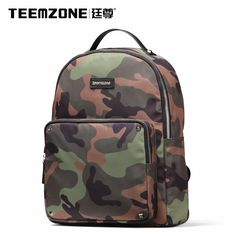 e6314cee5a5 US $62.7 43% OFF|Brand Teemzone Men And Women Canvas Waterproof Backpack  Casual Travel Beach Bag Laptop Backpack Teenagers School Bags Free Ship-in  ...