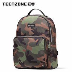 2ec74bf0c0128 Brand Teemzone Men And Women Canvas Waterproof Backpack Casual Travel Beach  Bag Laptop Backpack Teenagers School
