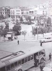 1953 ~ Kypseli square in Athens Attica Athens, Athens Acropolis, Athens Greece, Greece Pictures, Old Pictures, Old Photos, Vintage Photos, Athens History, Greece History