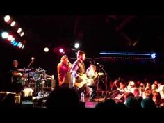 Tab Benoit  at the Cabooze - this is how you whip a crowd into a frenzy!