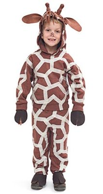 DIY Giraffe Halloween Costume Tutorial