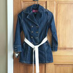JOUJOU jean  jacket Worn it once, great condition. Jou Jou Jackets & Coats Jean Jackets