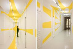 Anamorphic Illusions: Enormous Paintings That Deceive The Eye