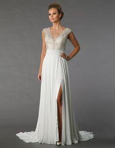 Danielle Caprese   Wedding Gowns   Beaded Sheath Gown   Hudson's Bay