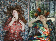 Flowers Reveries Portraits – Fubiz™