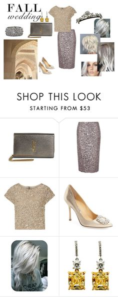 """""""Dorian Grey"""" by janeundone on Polyvore featuring Yves Saint Laurent, Tom Ford, Alice + Olivia, Manolo Blahnik and J. Birnbach"""