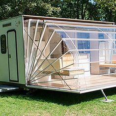 Do you remember camping as a kid? If you were lucky you had a camp trailer. Lol. Camping was/is not my forte and I wasn't onboard with tent camping! We didn't have a trailer but it didn't stop me from wanting one. I loved how the furniture flipped up and the sides flipped down… there was...