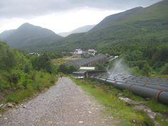 Opkomst en neergang van een elektrisch dorp - Kinlochleven, Schotland.