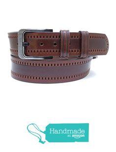 "Brown Adjustable Leather Belt 125 cm (49.21"") BLT741 from Nazo Design… #handmadeatamazon #nazodesign"