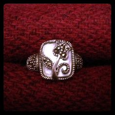 Vintage Beautiful Genuine MARCASITE Sterling by SilverUnique, $35.00