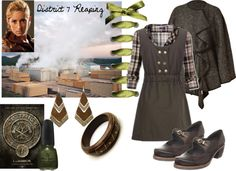 """""""District 7 Reaping"""" by mystimorgan on Polyvore"""