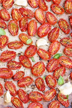 Slow Roasted Cherry or Grape Tomatoes — possibility the most versatile summer recipe...check out the long list of ways to enjoy these flavor-packed gems: