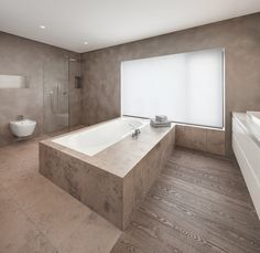Berschneider + Berschneider, Architekten BDA + Innenarchitekten, Neumarkt: Bäder Bad Inspiration, Bathroom Inspiration, Bathroom Toilets, Bathrooms, Bathroom Interior, Corner Bathtub, Designer, Architecture Design, Vanity